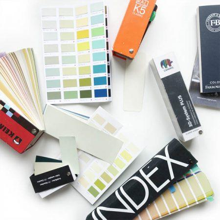 Farbraumdesign Farbfächer (Auswahl)