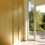 Wandschrank Schranktüren Blattgold (2008)