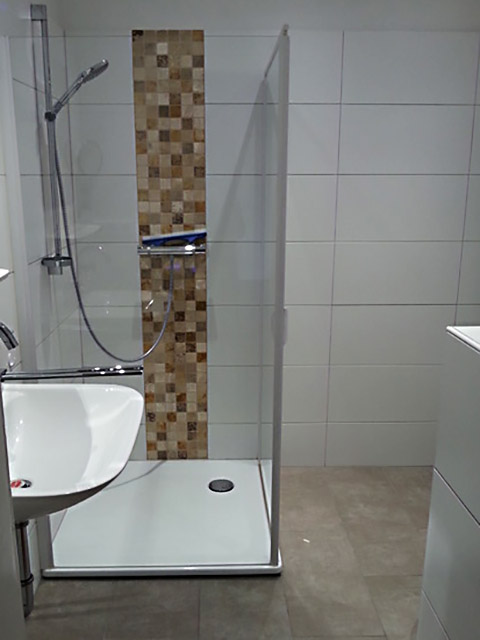 Badezimmer, frisch renoviert gefällt nicht