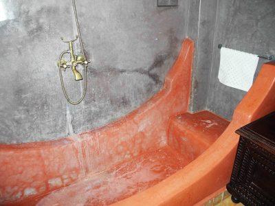 Tadelakt Marokko, Badezimmer