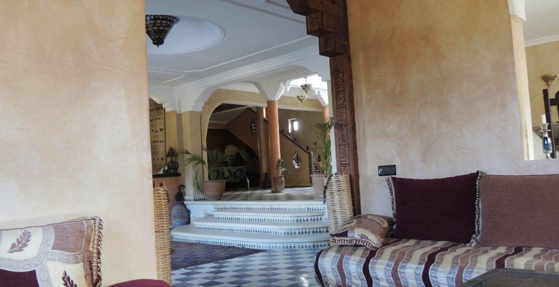 Tadelakt Marokko, Eingangshalle und Foyer