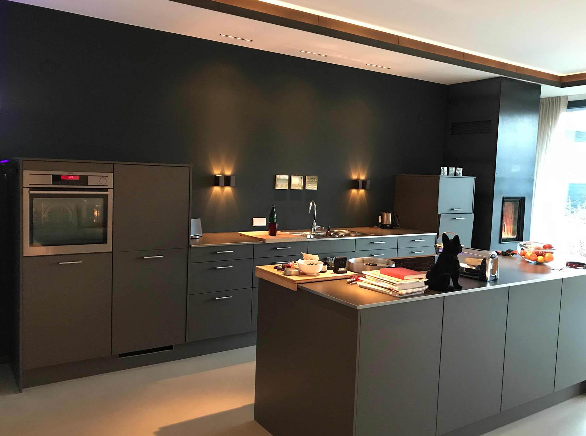 Küche, Stadthaus in Köln, F&B Studio Green No. 93